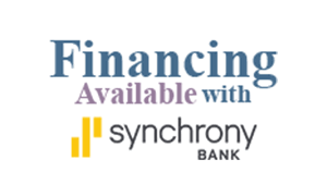 Financing available with Synchrony